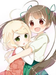 Find images and videos about cute, anime and kawaii on We Heart It - the app to get lost in what you love. Anime Girl Cute, Beautiful Anime Girl, Kawaii Anime Girl, Cute Anime Couples, Anime Art Girl, Anime Best Friends, Friend Anime, Loli Kawaii, Kawaii Chibi