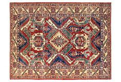Bashian Kazak Rug, Rust/Multi - One Kings Lane