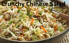 Crunchy chinese salad ~ Easy Recipes