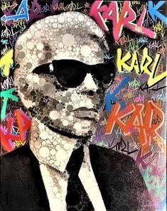 Karl Lagerfeld Choupette, Art En Ligne, Claudia Schiffer, Art Graphique, Illustrations, Oeuvre D'art, Les Oeuvres, Icon Design, Surrealism