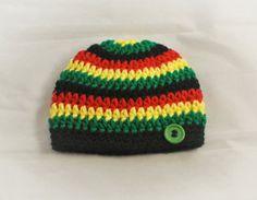 Jamaica Beanie Reggae Wear Rasta Apparel Jamaica
