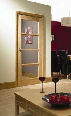 Interior wood door with frosted glass panel best photos image 2