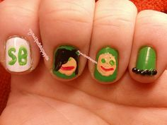 St. Baldricks post by My nail polish is poppin, via Flickr