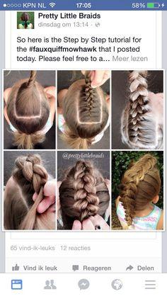 Braid Styles for Long Hair – Lavish Braids Little Girl Hairstyles, Up Hairstyles, Pretty Hairstyles, Braided Hairstyles, Faux Hawk Hairstyles, Coiffure Hair, Natural Hair Styles, Short Hair Styles, Toddler Hair