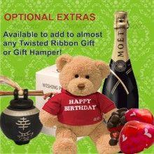 Wine & Food Gift Basket - Gift Hampers, Baskets & Corporate Gift Baskets - Gift Delivery in Melbourne, Sydney and Australia    www.twistedribbon.com.au