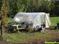 Rocket Mass Heater in Greenhouse (rocket stoves forum at permies)