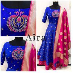 Salwar Neck Designs, Blouse Designs Silk, Choli Designs, Dress Neck Designs, Kurta Designs Women, Bridal Blouse Designs, Work Dresses For Women, Clothes For Women, Chudidhar Designs