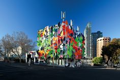 The Pixel Building, #LEED Platinum, Melbourne, Australia, Studio 505, #FSC certified project