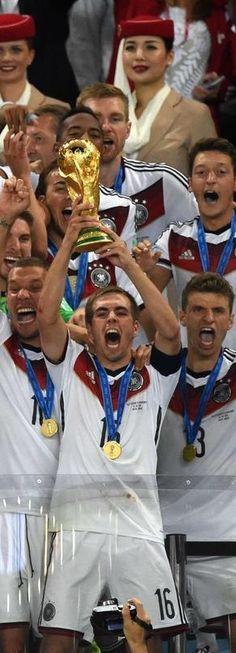 2014 FIFA World Cup - Deutschland Weltmeister ! 1954/1974/1990/2014 - a true team effort