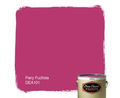 Color: Fiery Fuchsia DEA101