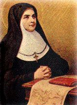 St. Maria Soledad, Roman Catholic Nun. In 1851, she was asked by a parish priest, a member of the Third Order of the Servites, Fr. Michael Martinez y Sanz, to minister to the sick poor of his parish in their homes. On August 15, 1851, with six companions she began this ministry, taking the name Maria Soledad. Feastday October 11