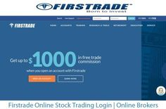 Firstrade Online Stock Trading Login Brokers Tecteem South Australia