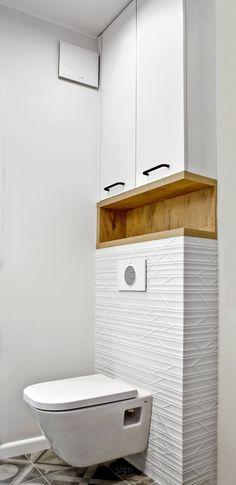 Łazienka: styl , w kategorii Łazienka zaprojektowany przez DW SIGN Pracownia Architektury Wnętrz Interior Design Studio, Bathroom Interior Design, Wc Design, Shelf Design, Studio Design, Design Ideas, Bathroom Design Small, Modern Bathroom, Bathroom Designs