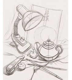 drawings of hand Perspective Drawing Lessons, Perspective Art, Basic Drawing, Technical Drawing, Pencil Art Drawings, Art Drawings Sketches, Academic Drawing, Object Drawing, Still Life Drawing
