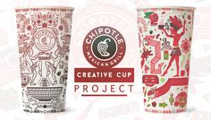 Chipotle Creative Cup design ( personal project ) on Behance