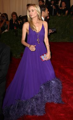 Diane Kruger - Celebs at the Costume Institute Benefit Gala 2012 at The Met