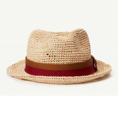 825205b87f8a5 Mar Del Festival raffia straw classic brim fedora hat with brim