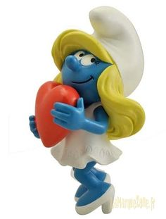 New Plastoy Smurfette - available May 2015
