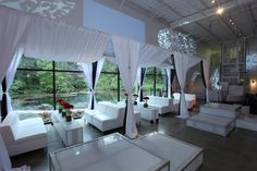 All White and Über-Chic at Haute Durvó! #NY #Parties #EventSpace #PartyPlanner