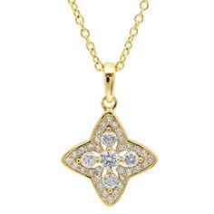 CRISLU Halo Star Necklace