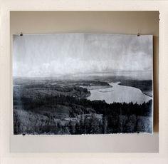 Astoria Overlook Large Format Print by HANDSworkshop on Little Paper Planes