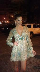Viviana Ortiz Wearing Lisa Thon