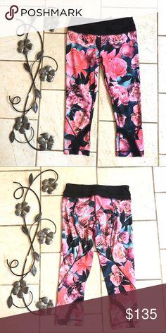 7f5b73e7a9d888 lululemon secret garden inspire crops Perfect condition. Size 6 lululemon  athletica Pants Inspire