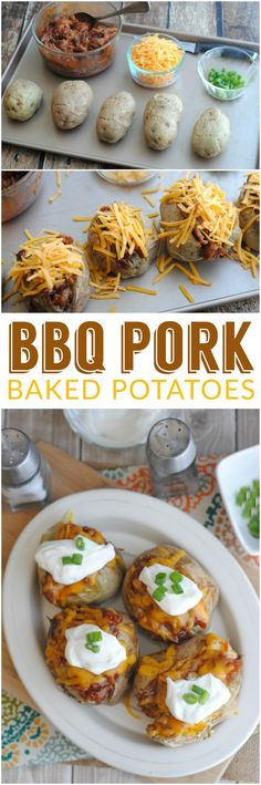 These BBQ Pork Baked