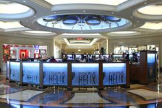 Double Helix wine bar at Palazzo Las Vegas.