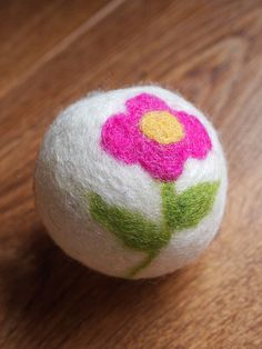 Needle Felted Dryer Ball