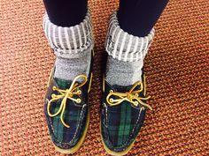 detailed look caf43 28ebd Hiking socks + Sperries