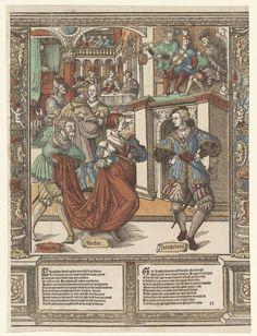 Het bal, Cornelis Anthonisz., Jan Ewoutsz., J�rg Breu (der �ltere), 1541