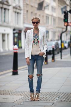 street style blazer - Google-Suche