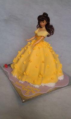 Belle birthday cake | Suzzle Cakes