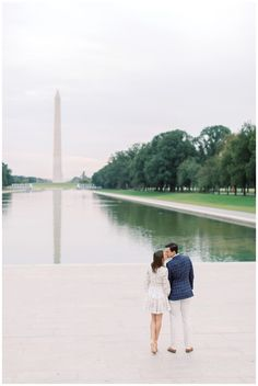 DC War Memorial Engagement Session | District of Columbia Monument Engagement Photos | Christina and Rob - kir2ben.com Dc Photography, Engagement Photography, Engagement Session, Engagement Photos, City Vibe, Wedding Tips, Engagements, Getting Married, Columbia