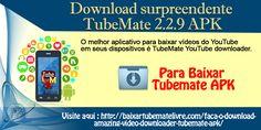 Você precisa fazer o download do incrível arquivo TubeMate YouTube downloader 2.2.9 apk em seu dispositivo. O YouTube é o site onde podemos encontrar qualquer tipo de vídeos de todo o mundo. Mas, os vídeos disponíveis no YouTube só podem ser acessados online.