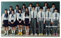 CONVERSE「MYDENTITY」2009FALL #converse #maydentity #direction #design #shooting #movie #boy #girl #sneaker #kicks #advertisement #print #web #sorepromotiontool #dekisugi #japanese #Highschool