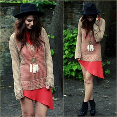 Gold and Red (by Morven SW) http://lookbook.nu/look/2023985-Gold-and-Red