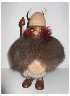 Mid Century Danish Teak Viking Figurine. €49,00, via Etsy.