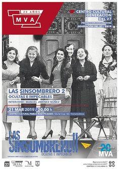 C.C. Generación del 27 · Las simsombrero 2 · Torremolinos Bae, Malaga, Movies, Movie Posters, Silver Age, Romanticism, Characters, Documentaries, Writers