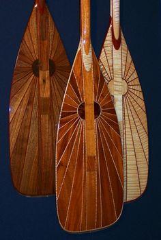 Canoe Paddle Collection by woodsongcanoes on Etsy, $2985.00