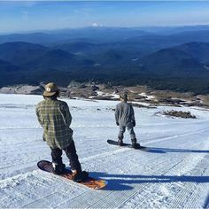 powesnowboards:  Andrew taking it all in during some summer riding with his shredder.