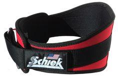 """Schiek Red Weight Lifting Belt 6"""" 2006"""