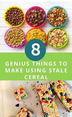 173 best kitchen 101 cooking tips images on pinterest cooking 8 genius things to make using stale cereal ccuart Images