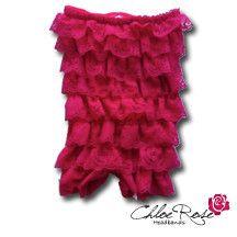 Hot Pink Strapless Romper | Chloe Rose Headbands