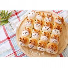 Totoro bread / トトロちぎりパン