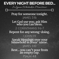 Every night. This is so helpful. Prayer Scriptures, Bible Prayers, Faith Prayer, My Prayer, Bible Verses, Daily Scripture, Prayer Times, After Life, Prayer Board