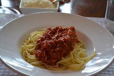 Spaghetti Boloñesa | Paloma de la Rica
