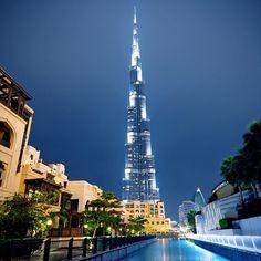 برج خليفة، دبي، الإمارات  Burj Khalifa, Dubai, UAE  By @mbd3uae