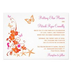 Wedding invitation love ... Just need to change the colours slightly #damncopyright #tropicalwedding #orangeandwhite